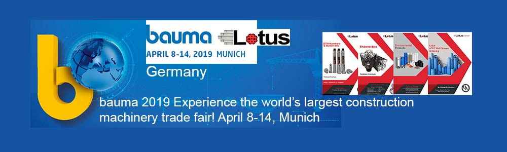 Bauma 2019, Munich Germany